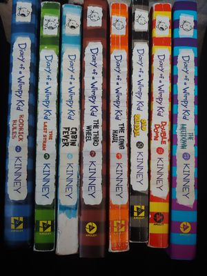Diary of a Wimpy Kid lot of 8 for Sale in Meriden, CT