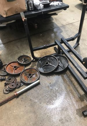 International/ Excell weights plus bench for Sale in Fresno, CA