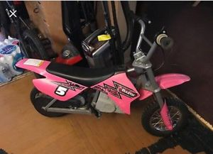 Pink razor dirt bike for Sale in Durham, NC