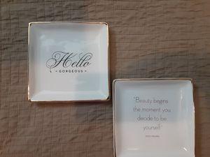 Z-Gallerie Jewelry plates for Sale in Rowlett, TX