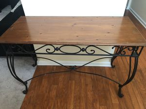 Tall Console/ Entryway Table for Sale in Lithonia, GA