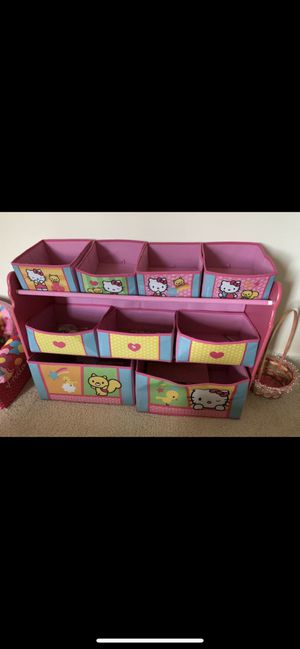 Hello Kitty toy organizer for Sale in Fulton, MD