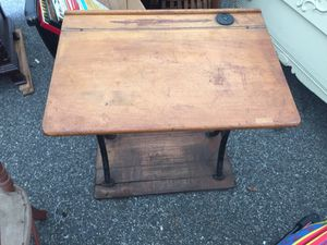 Vintage child's classroom desk for Sale in Revere, MA