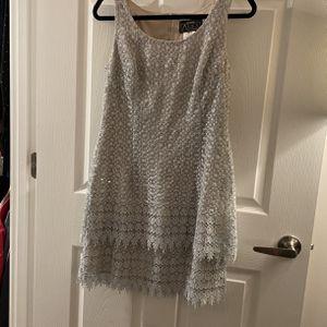 Alex Tiered Fringe Dress Size 8P for Sale in Alexandria, VA