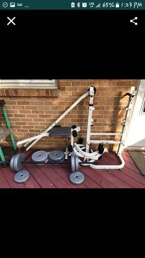 Weight/bench set for Sale in Newport News, VA