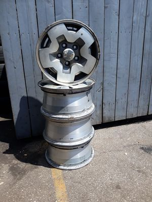 15 inches Chevrolet rims for sale for Sale in Cleveland, OH