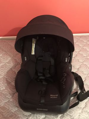 Maxi-Cosi mico ap car seat black fantastic condition for Sale in Pembroke Pines, FL