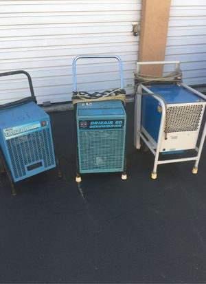 Dehumidifiers DRIZAIR 60, 80 and EBAC for Sale in Spring Valley, CA