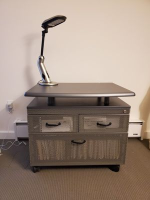Metal file cabinet/printer stand for Sale in Seattle, WA