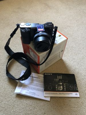 Sony Alpha a6000 for Sale in Baltimore, MD