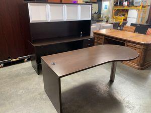 Espresso Desk w/ Hutch for Sale in Lakewood, CA