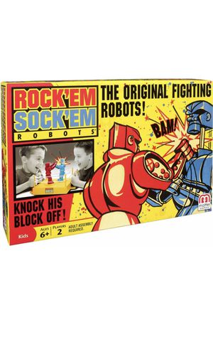 Rockem Sockem Robots Kids Play Toy Boxing Match Game Vintage Classic Fun Gift Sealed for Sale in Clermont, FL