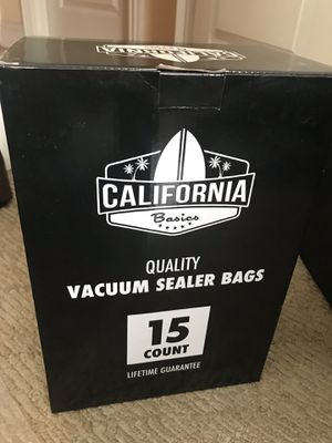 Vacuum Sealer Bags 15 Count Good Quality for Sale in Bentonville, AR