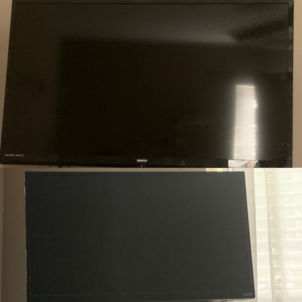 50 and 42 inch TV's
