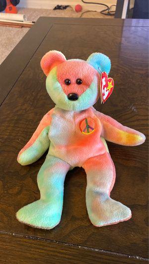 Peace bear original 1996 beanie baby for Sale in Reston, VA