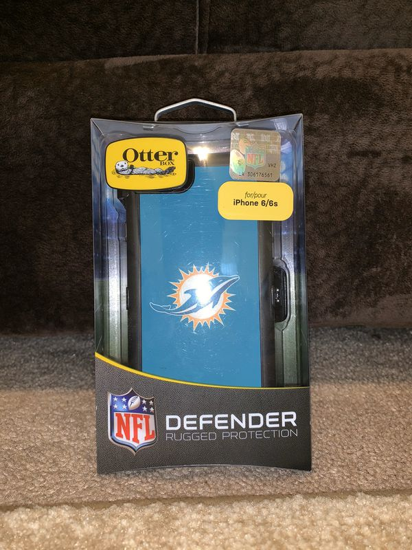 Otterbox Defender - Miami Dolphins