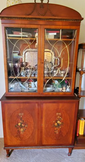 Incredible Antique China Cabinet for Sale in San Juan Capistrano, CA