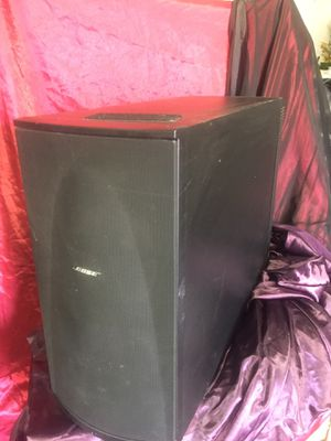 "Bose subwoofer all in one amp/sub and 10"" speaker for Sale in Sanger, CA"