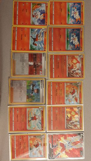 Fran new pokemon cardsFran new pokemon cards Imperfect condition Cinderace for Sale in Scotchtown, NY