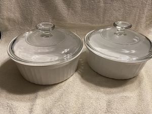 3 pc French white Corning wear for Sale in Camden, NC