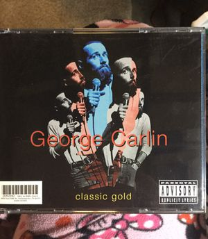 🚦Parental Advisory🚦George Carlin Classic Gold 2 CD Collection Scuffs on the case but CD'S are in store bought condition FREE SHIP WITH PAYPAL for Sale in Fenton, MO