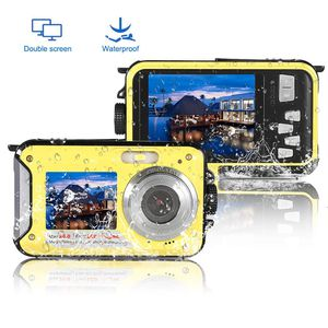 New Underwater Camera Waterproof Camera Full HD 1080P Waterproof Digital Camera 24.0MP Underwater Digital Camera Dual Screen Point and Shoot Digital for Sale in Orlando, FL