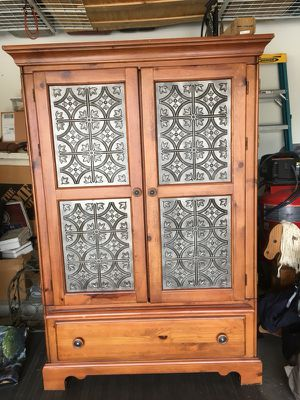 Tv stand w/ drawer set for Sale in Phoenix, AZ