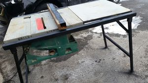 Makita table saw. PERFECT working condition. Model 44543A for Sale in Pittsburgh, PA