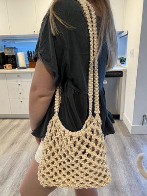 Macrame tote bag for Sale in Seattle, WA