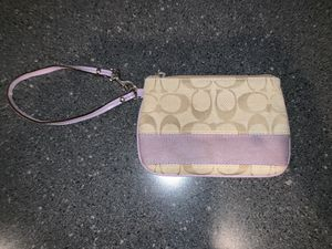 Coach wristlet for Sale in New Albany, OH