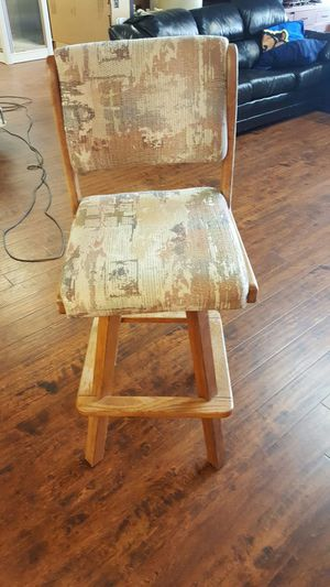 Bar stool oak for Sale in City of Industry, CA