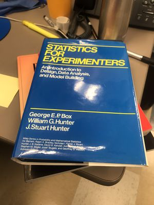 Statistics for experimenters for Sale in Campbell, CA
