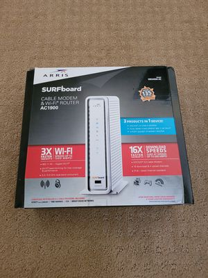 Arris modem + Wireless router SBG6900-AC for Sale in San Diego, CA