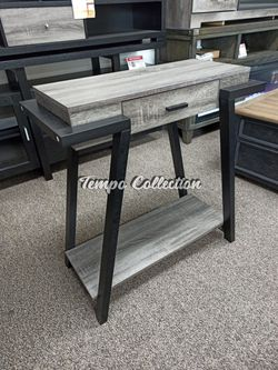 New Console Table, Grey, SKU# ID182338TC for Sale in Santa Fe Springs,  CA