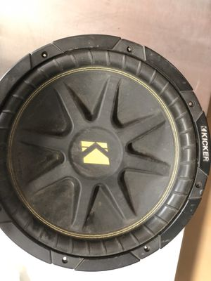 Kicker 12-Inch 300W Power Car Audio Subwoofers Subs C124, 10C124 for Sale in Fontana, CA
