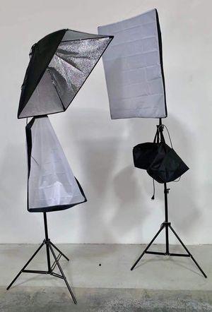 New in box 2 pcs 85 watts soft light softbox photography studio lighting equipment for Sale in La Mirada, CA