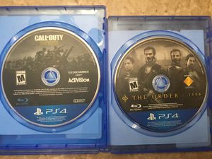 PS4 GAMES 2 FOR 15 for Sale in Peoria, AZ