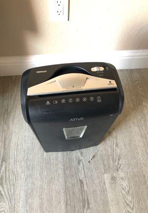 Paper shredder for Sale in Bakersfield, CA