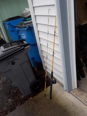 Fishing rod and reel combo for Sale in Vancouver, WA
