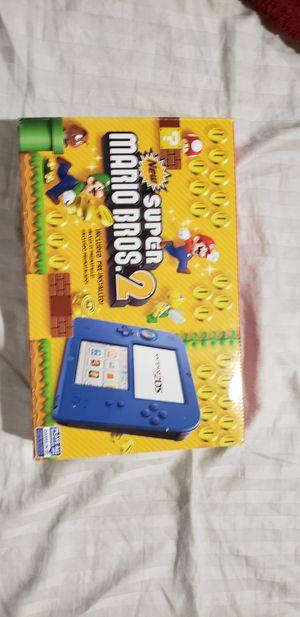 Nintendo 2ds blue with super mario bros for Sale in Alexandria, VA