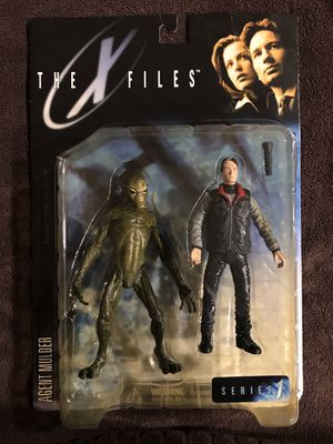 X-Files action figures- Series 1, three available for Sale in Fresno, CA
