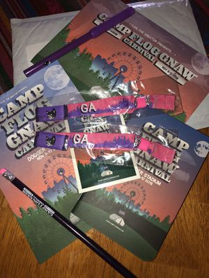 Camp flognaw wristbands (two) for Sale in Glendale, CA