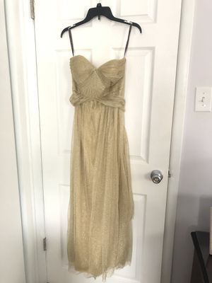 Jenny Yoo Bridesmaid Dress Gold for Sale in Lansdale, PA