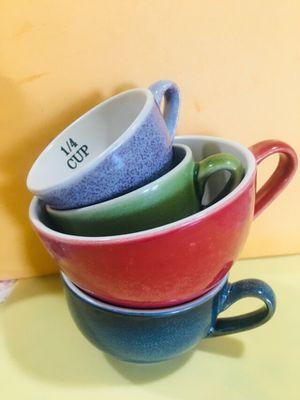 MINIATURE MUGS MEASURING CUPS CERAMIC KITCHENWARE for Sale in Bellflower, CA