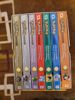 Pokemon Adventures Manga Box Set (Gold/Silver/Crystal) for Sale in Chicago, IL