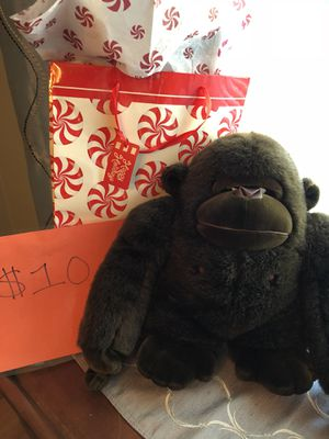 Large gorilla stuffed animal for Sale in Pittsburgh, PA