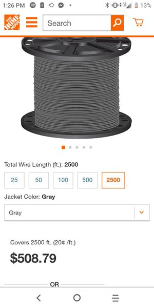 Wire for Sale in Seattle, WA