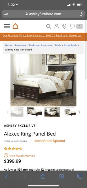 Queen Size Panel Bed Frame for Sale in Great Falls, MT