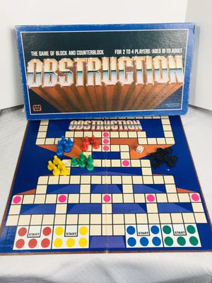 Vintage 1979 Whitman Obstruction Board Game for Sale in Pawtucket, RI