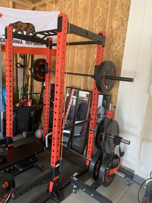Ethos Weights, rack, and weights for Sale in Aurora, CO